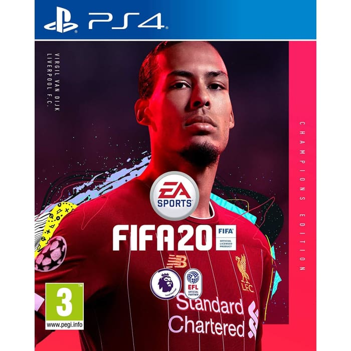 FIFA 20 CHAMPIONS EDITION - PS4 GAME