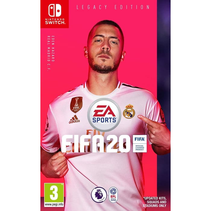 FIFA 20 LEGACY EDITION - NINTENDO SWITCH GAME