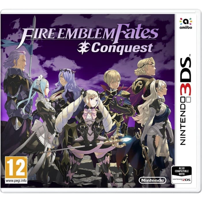 FIRE EMBLEM FATES: CONQUEST - NINTENDO 3DS GAME