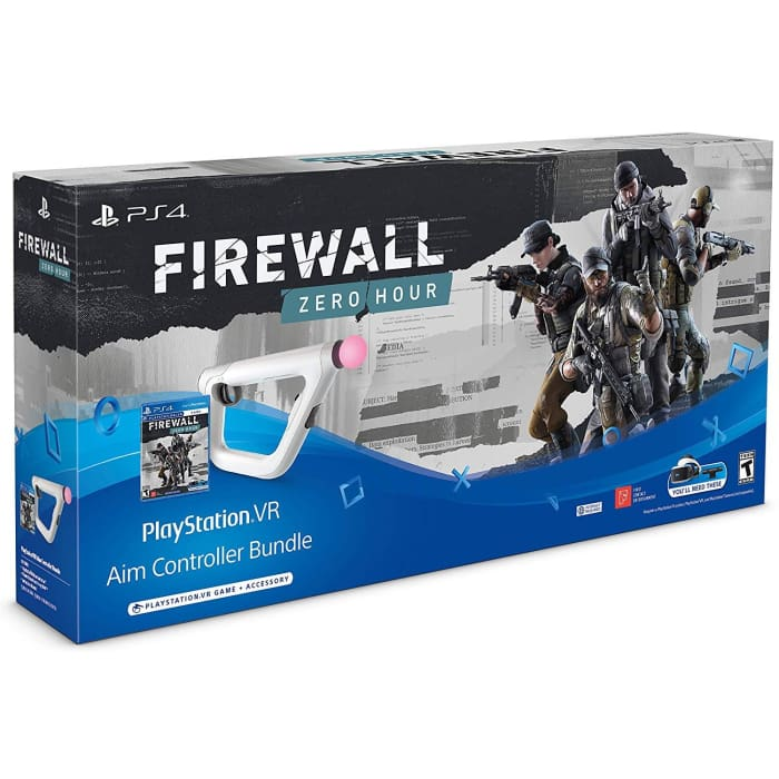 FIREWALL ZERO HOUR WITH AIM CONTROLLER VR PSVR - PS4 GAME