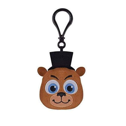 FIVE NIGHTS AT FREDDYS PLUSH KEYCHAIN- FREDDY FAZBEAR
