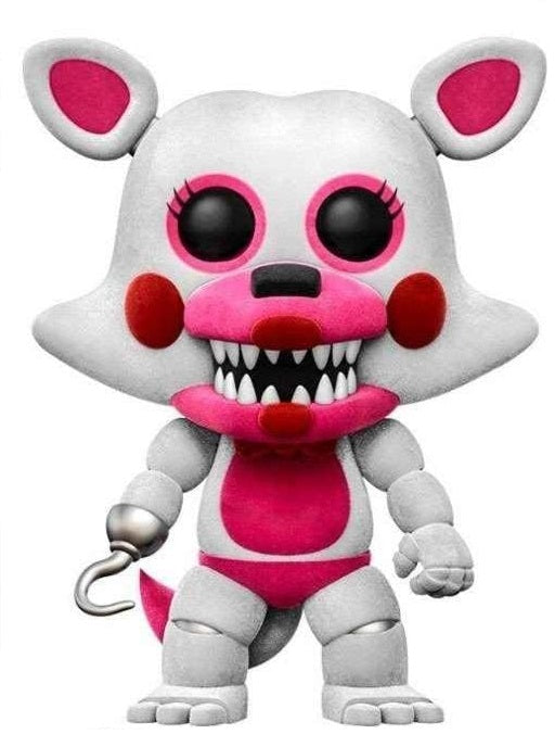 FUNKO POP! GAMES: FIVE NIGHTS AT FREDDY'S SISTER LOCATION FUNTIME FOXY (FLOCKED) #129
