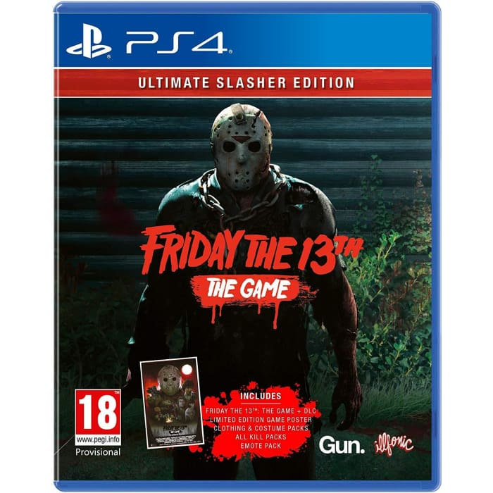 FRIDAY THE 13TH THE GAME: ULTIMATE SLASHER EDITION - PS4 GAME