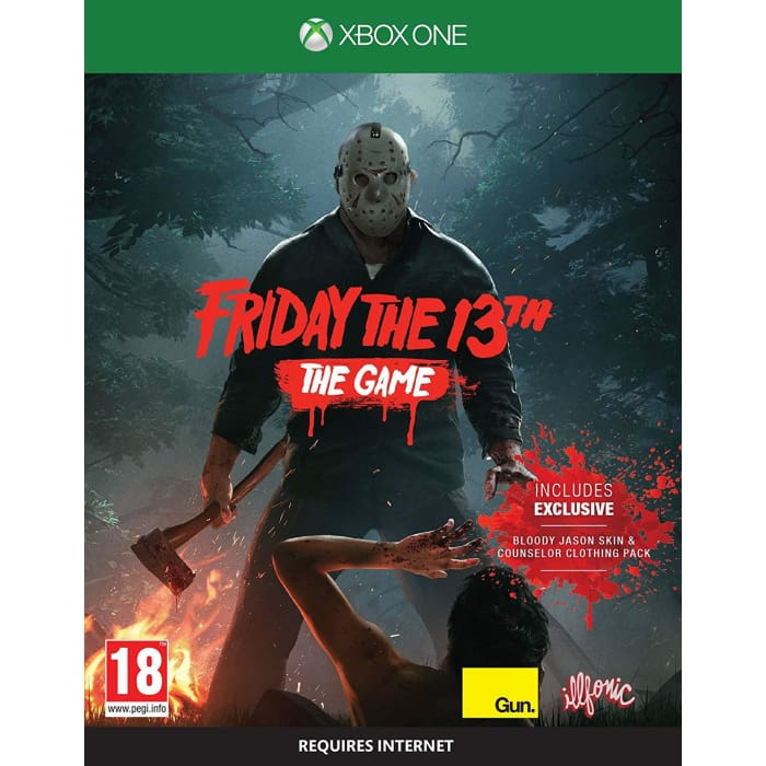 FRIDAY THE 13TH THE GAME - XBOX ONE GAME