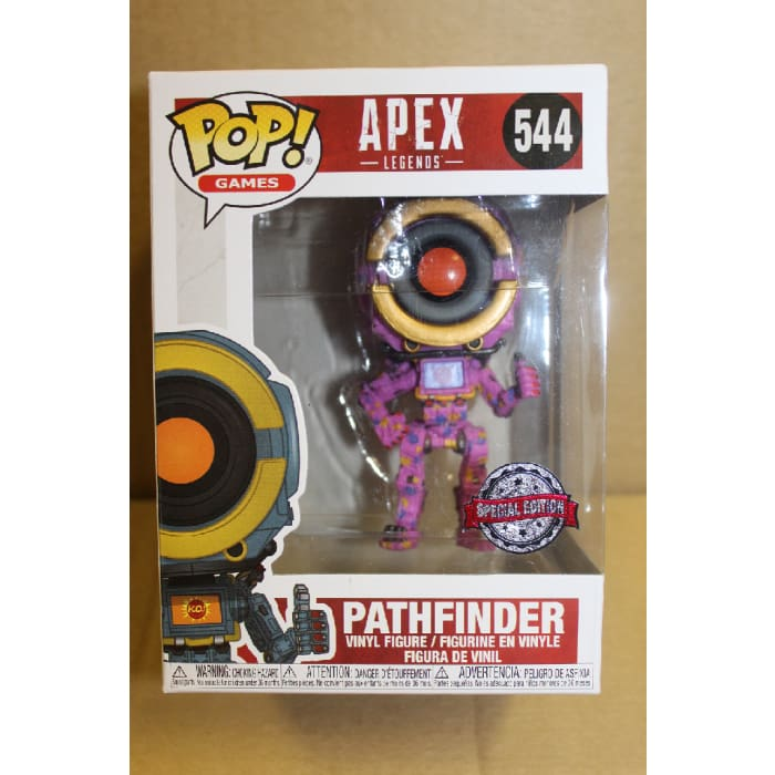 FUNKO POP! APEX LEGENDS PATHFINDER SPECIAL EDITION #544