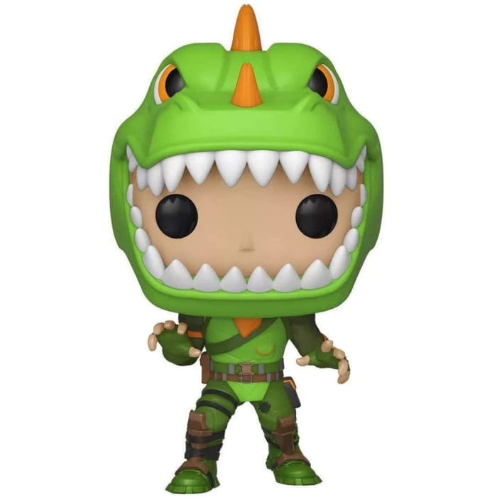 FUNKO POP! GAMES: FORTNITE REX GLOW IN THE DARK BOBBLEHEAD #443