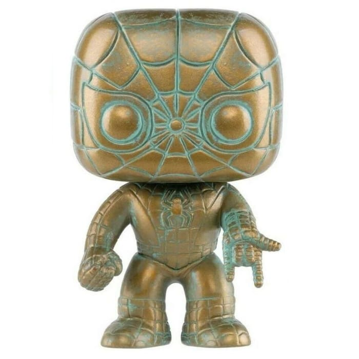 FUNKO POP! MARVEL 80 YEARS SPIDER-MAN (PATINA) SPECIAL EDITION #495