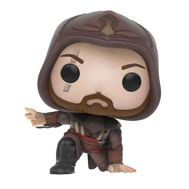 FUNKO POP! MOVIES ASSASSINS CREED AGUILAR (CROUCHING) LOOT CRATE EXCLUSIVE #379