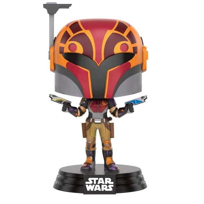 FUNKO POP! STAR WARS REBELS SABINE (MASKED) BOBBLEHEAD #131