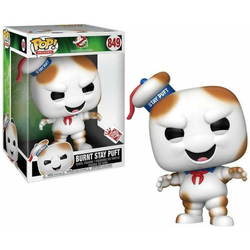 FUNKO POP VINYL GIANT 10 GHOSTBUSTER BURNT STAY PUFT SPECIAL EDITION #849
