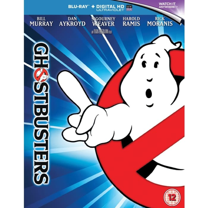 GHOSTBUSTERS - BLU-RAY & HD ULTRAVIOLET