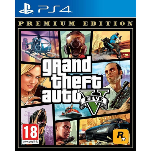 GRAND THEFT AUTO 5 PREMIUM EDITION - PS4 GAME