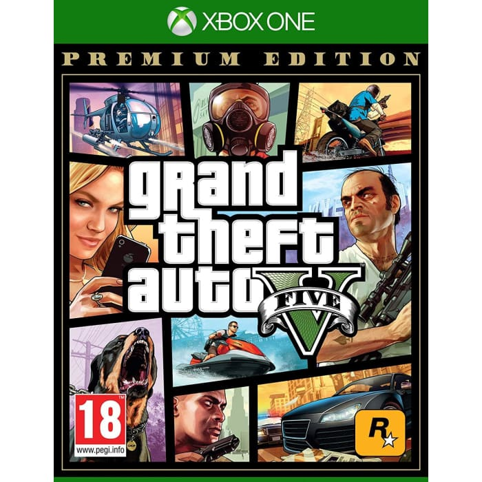 GRAND THEFT AUTO 5 PREMIUM EDITION - XBOX ONE GAME
