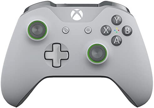 MICROSOFT XBOX ONE WIRELESS CONTROLLER - GREY & GREEN