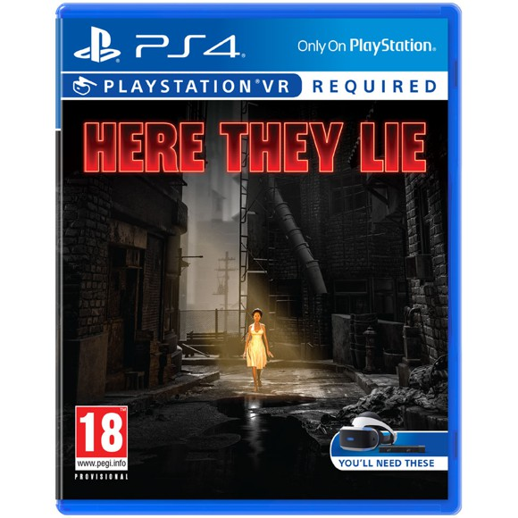 HERE THEY LIE PSVR - PS4 GAME