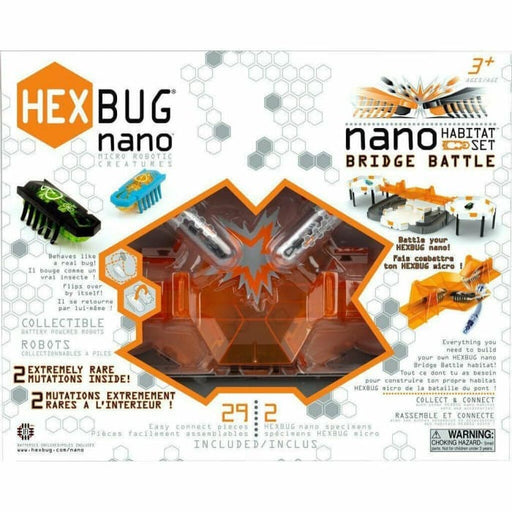 HEXBUG NANO BRIDGE BATTLE HABITAT SET CHILDRENS BUILDING TOY