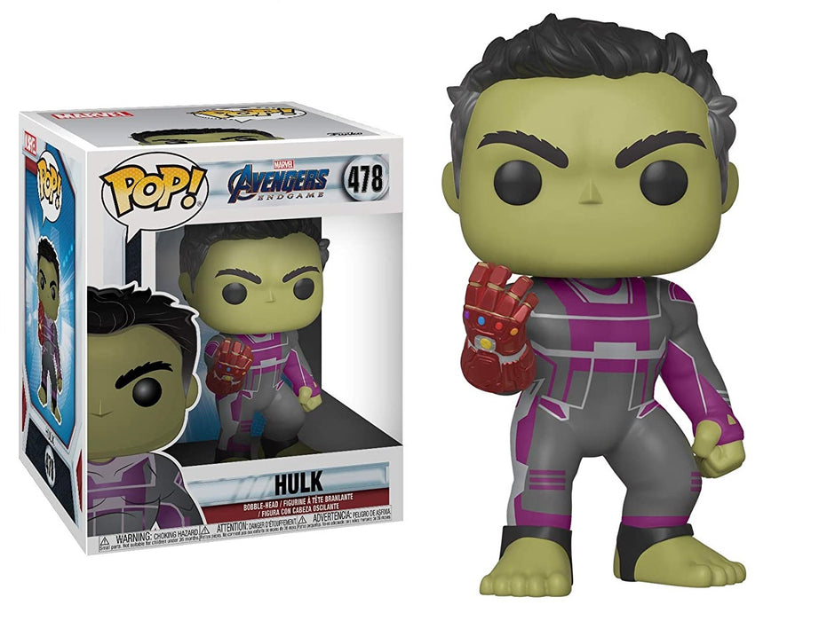 FUNKO POP! MOVIES AVENGERS ENDGAME HULK #478