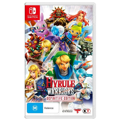 HYRULE WARRIORS DEFINITIVE EDITION - NINTENDO SWITCH GAME