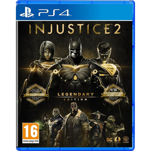 INJUSTICE 2 LEGENDARY EDITION - PS4 GAME