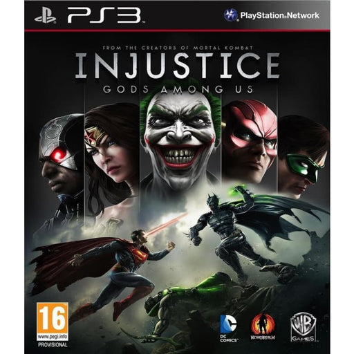 INJUSTICE GODS AMONG US - PS3 GAME