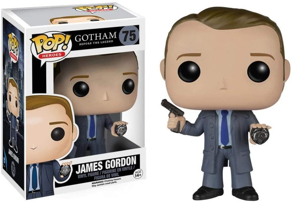 FUNKO POP! HEROES GOTHAM JAMES GORDON #75