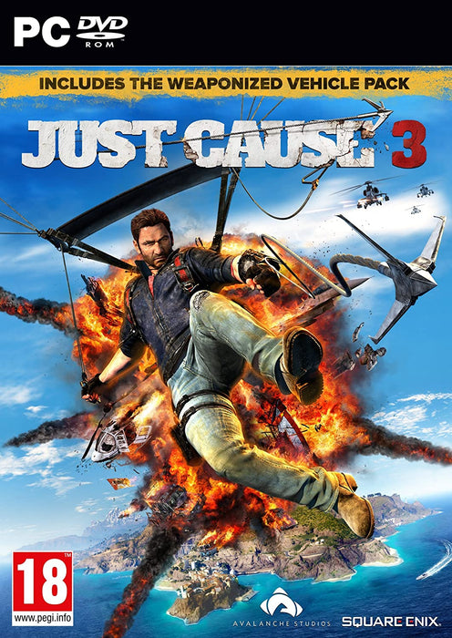 JUST CAUSE 3 inc. WEAPONIZED VEHICLE & BLOODHOUND RPG PACK - PC