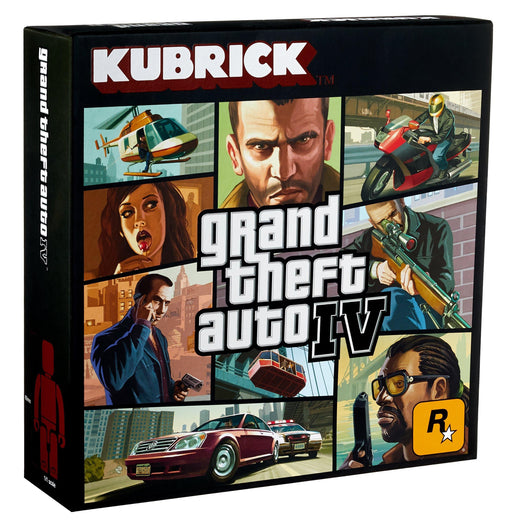 GRAND THEFT AUTO GTA IV KUBRICK 5 FIGURE SET