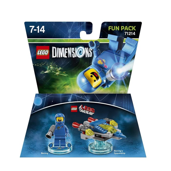 LEGO DIMENSIONS: LEGO MOVIE BENNY - FUN PACK
