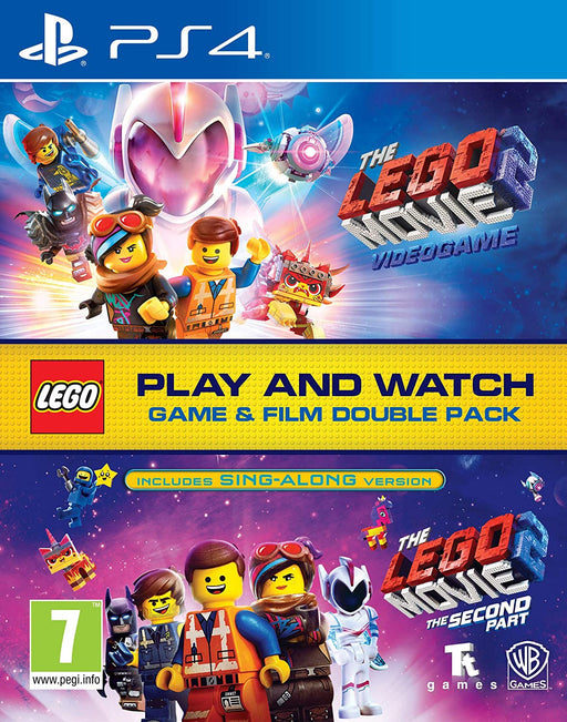 THE LEGO MOVIE 2 VIDEOGAME & BLU-RAY DOUBLE PACK FOR PS4