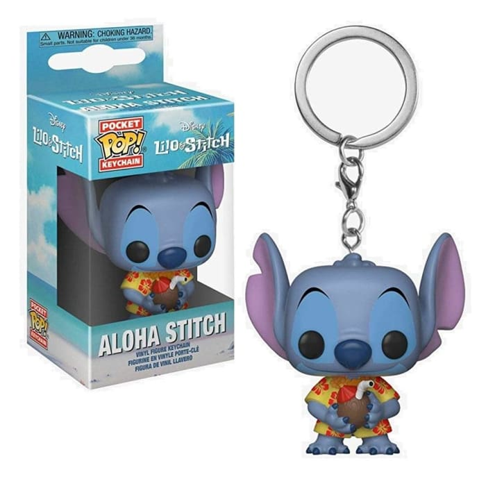 LILO & STITCH FUNKO POCKET POP! KEYCHAIN - ALOHA STITCH SPECIAL EDITION