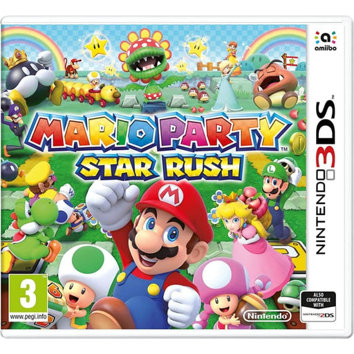 MARIO PARTY: STAR RUSH - NINTENDO 3DS GAME