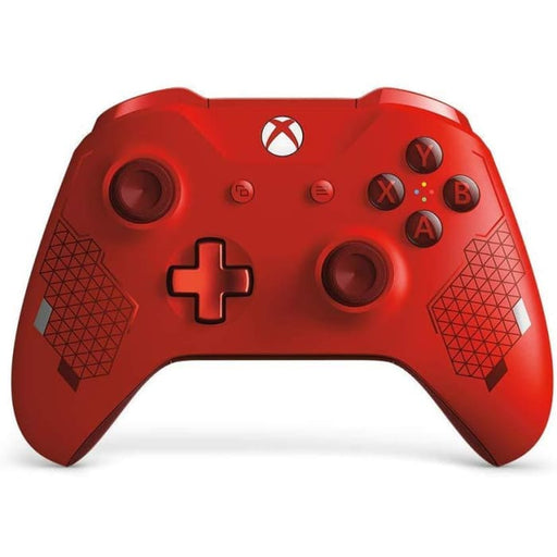 MICROSOFT XBOX ONE WIRELESS CONTROLLER - SPORT RED LIMITED EDITION