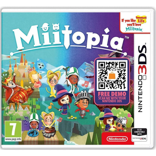 MIITOPIA - NINTENDO 3DS GAME