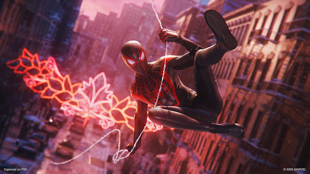 MARVEL'S SPIDER-MAN : MILES MORALES - PS4 GAME