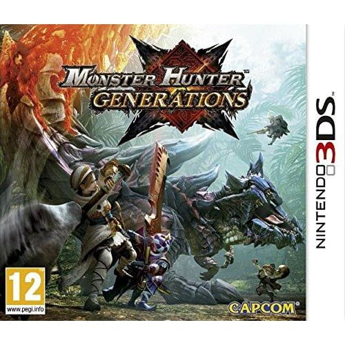 MONSTER HUNTER GENERATIONS - NINTENDO 3DS GAME