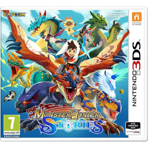 MONSTER HUNTER STORIES - NINTENDO 3DS GAME