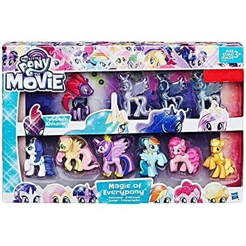 MY LITTLE PONY THE MOVIE OF EVERY PONY ROUNDUP 10X FIGUERS COLLECTION