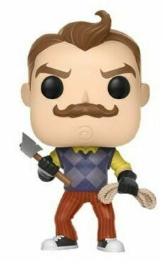 FUNKO POP! GAMES: HELLO NEIGHBOR (WITH AXE & ROPE) #262