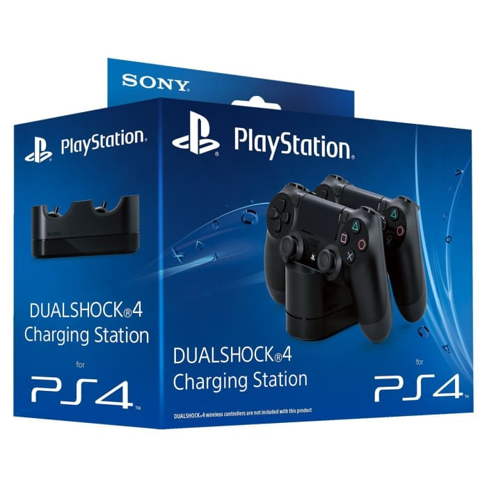 OFFICIAL SONY DUALSHOCK 4 DUAL CHARGING DOCK FOR PS4