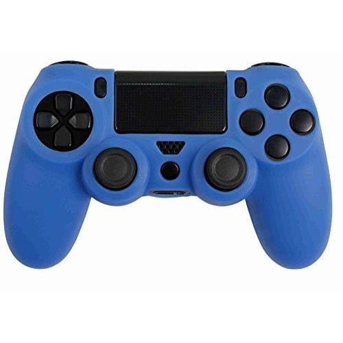 ORB PS4 DUALSHOCK 4 CONTROLLER SILICONE SKIN COVER - PLAYSTATION 4 (BLUE)