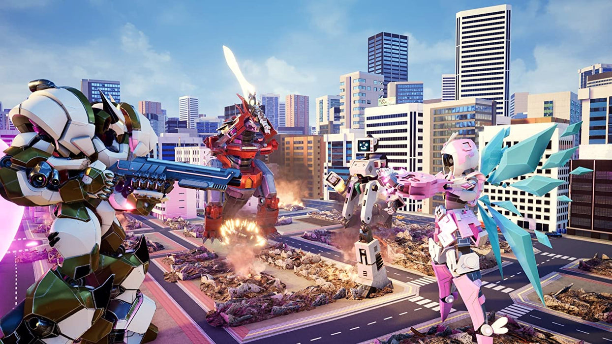 OVERRIDE: MECH CITY BRAWL - PS4 GAME