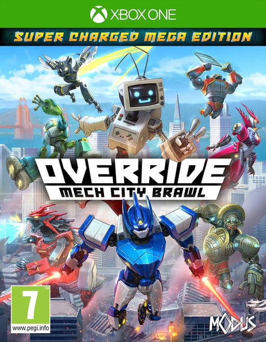 OVERRIDE: MECH CITY BRAWL - XBOX ONE GAME