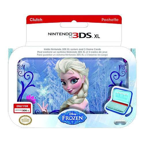 PDP DISNEY FROZEN ZIP UP CLUTCH CASE - NINTENDO 3DS XL
