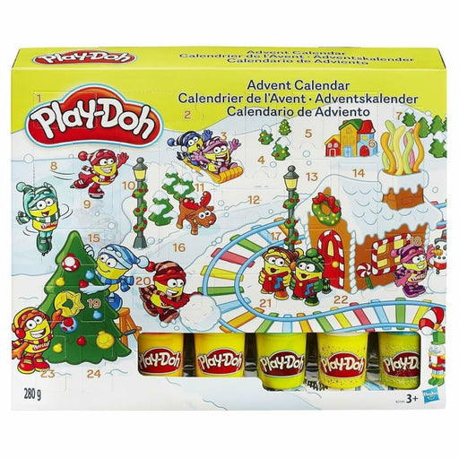 PLAY-DOH CHILDREN`S CHRISTMAS ADVENT CALENDAR