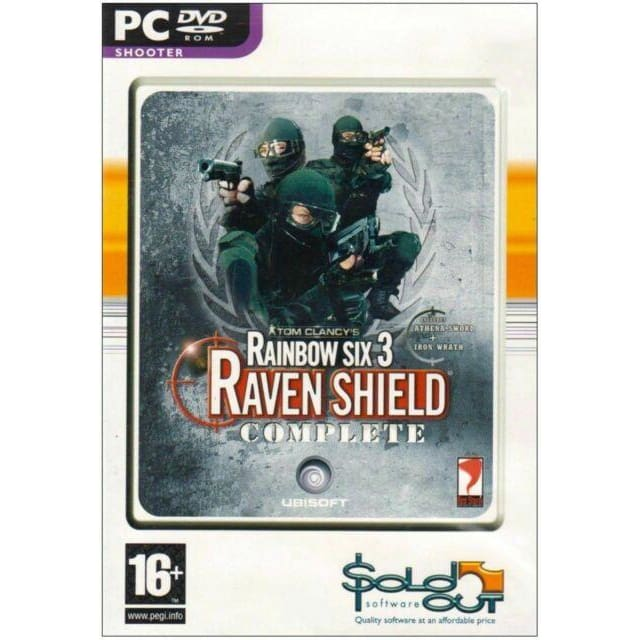 RAINBOW SIX 3: RAVEN SHIELD- COMPLETE EDITION PC