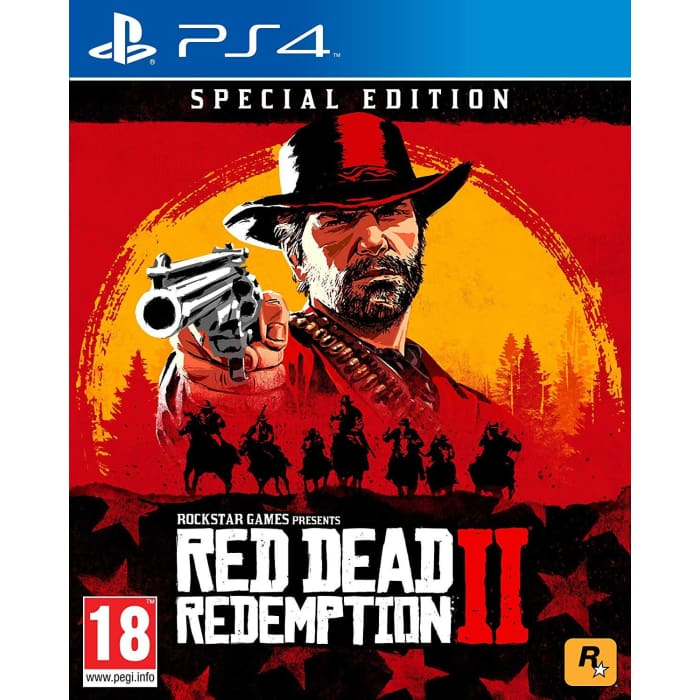 RED DEAD REDEMPTION 2 SPECIAL EDITION - PS4 GAME