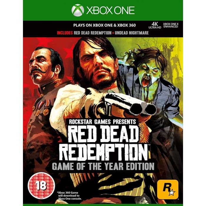 RED DEAD REDEMPTION GAME OF THE YEAR EDITION - XBOX ONE & XBOX 360 GAME