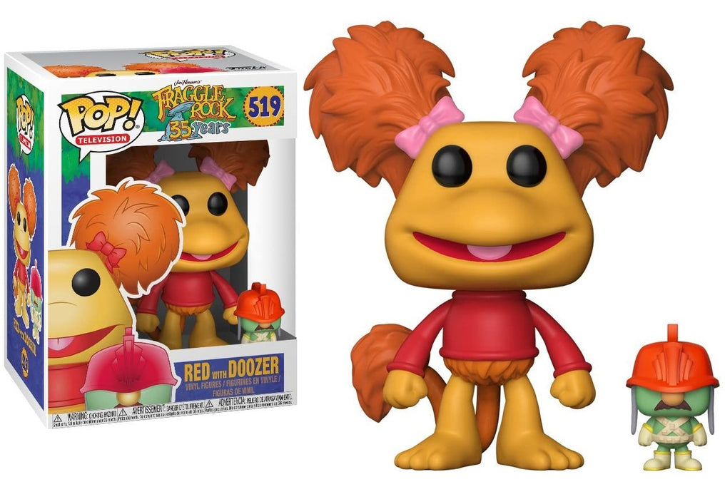 FUNKO POP! TELEVISION: FRAGGLE ROCK RED WITH DOOZER #519
