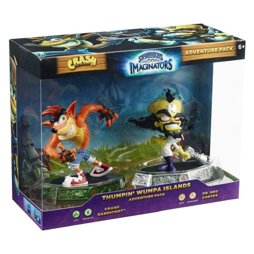SKYLANDERS IMAGINATORS: CRASH BANDICOOT THUMPIN WUMPA ISLANDS ADVENTURE PACK