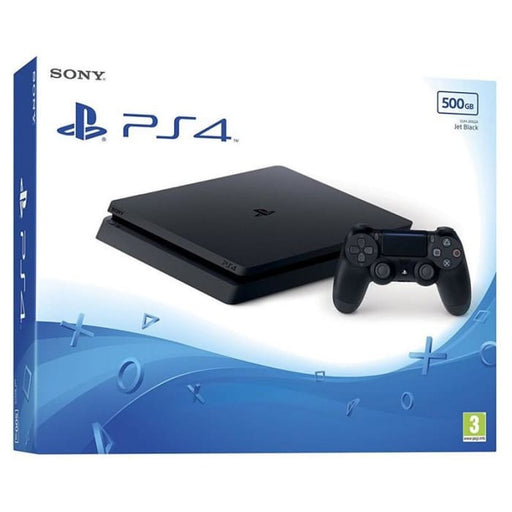 SONY PLAYSTATION PS4 500GB SLIM CONSOLE - BLACK